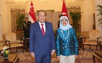 Phó Thủ tướng Thường trực thăm chính thức Singapore, Phần Lan, Bulgaria