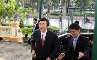 Bộ trưởng Ngoại giao Hàn Quốc thăm chính thức Việt Nam.