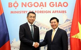 Bộ trưởng Ngoại giao Mông Cổ Tsend Munkh-Orgil thăm chính thức Việt Nam