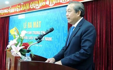 Ra mắt Trung tâm Trọng tài thương mại Luật gia Việt Nam