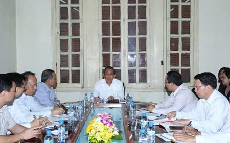 Phó Thủ tướng Trương Hòa Bình làm việc về công tác an toàn giao thông