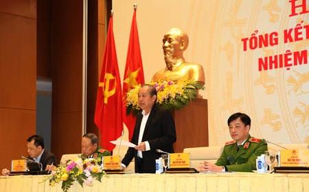 Phó Thủ tướng Thường trực dự Hội nghị tổng kết 2 BCĐ của Chính phủ