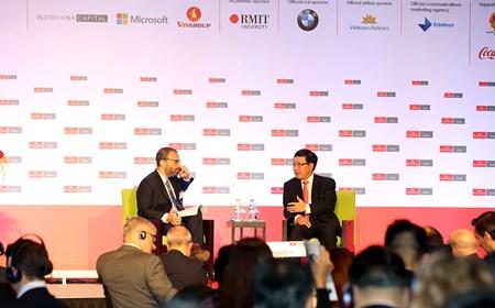 Phó Thủ tướng Phạm Bình Minh dự Hội nghị Kinh tế đối ngoại 2016