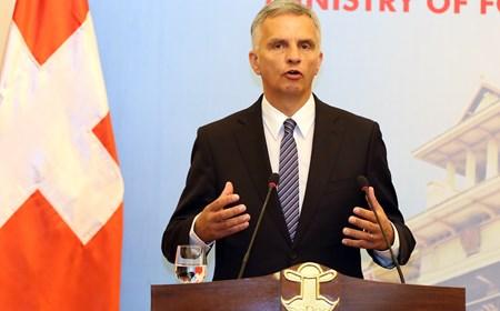 Bộ trưởng Ngoại giao Thuỵ Sỹ thăm Việt Nam