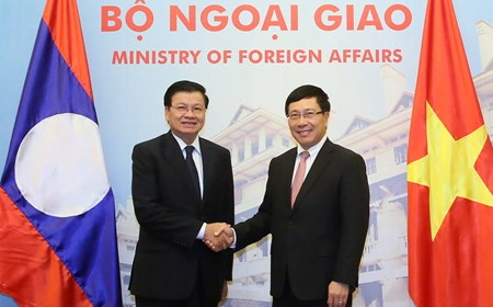 Tham vấn cấp Bộ trưởng Ngoại giao Việt Nam-Lào lần thứ 2