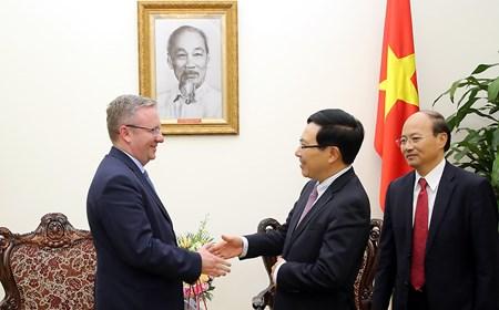 Bộ trưởng Văn phòng Tổng thống Ba Lan Krzysztof Szczerski thăm Việt Nam