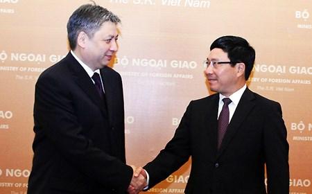 Bộ trưởng Ngoại giao Kyrgyzstan thăm Việt Nam