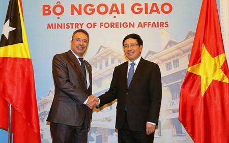 Bộ trưởng Ngoại giao và Hợp tác Timor Leste thăm chính thức Việt Nam