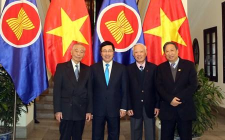 Lễ Thượng cờ đặc biệt chào mừng Cộng đồng ASEAN
