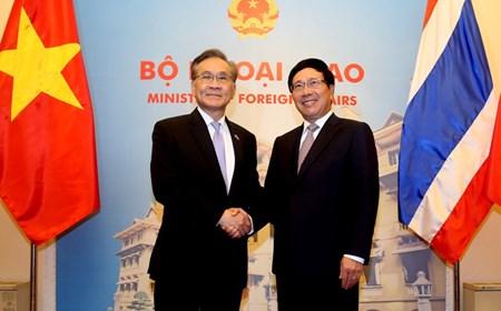Bộ trưởng Ngoại giao Thái Lan thăm chính thức Việt Nam