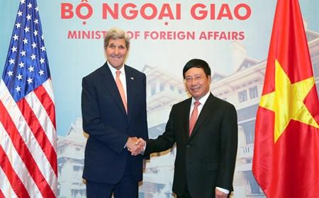 Ngoại trưởng Kerry thăm chính thức Việt Nam