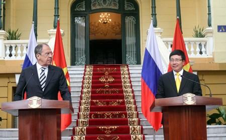 Quan hệ đối tác chiến lược toàn diện Việt-Nga phát triển tích cực