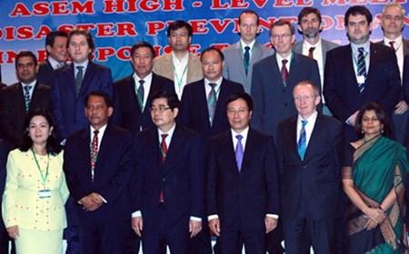 Khai mạc Hội nghị ASEM về phòng chống và cứu trợ thiên tai