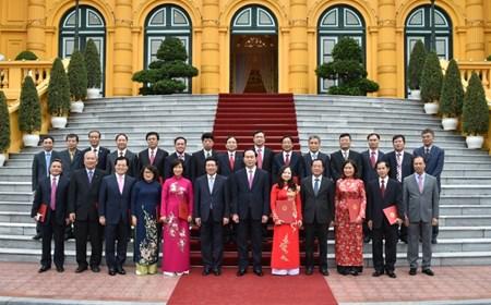 Chủ tịch nước bổ nhiệm Đại sứ Việt Nam