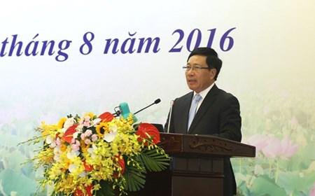 Phát biểu của Phó Thủ tướng Phạm Bình Minh tại Phiên khai mạc Hội nghị Ngoại giao 29