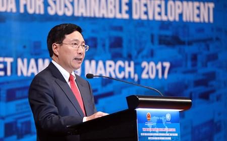 Phát biểu của Phó Thủ tướng tại Hội nghị của LHQ lần đầu tiên tổ chức tại Việt Nam
