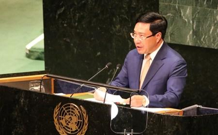 Toàn văn phát biểu của Phó Thủ tướng Phạm Bình Minh tại Liên Hợp Quốc