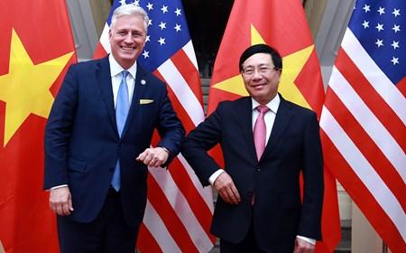 Quan hệ Việt Nam-Hoa Kỳ chưa bao giờ phát triển mạnh như hiện nay