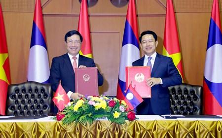 Tham vấn chính trị thường niên cấp Bộ trưởng Ngoại giao Việt Nam - Lào lần thứ 7
