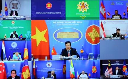 Ngoại trưởng các nước ASEAN trao đổi về tình hình Myanmar