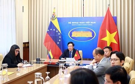 Tăng cường quan hệ Đối tác toàn diện Việt Nam-Venezuela