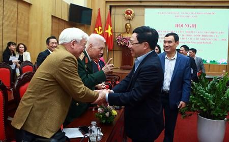 Cử tri phường Liễu Giai tín nhiệm Phó Thủ tướng Phạm Bình Minh ứng cử ĐBQH