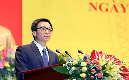 Phát biểu của Phó Thủ tướng tại Lễ Kỷ niệm thành lập Ban Tôn giáo Chính phủ