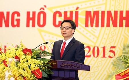 Phó Thủ tướng phát biểu tại Lễ kỷ niệm 70 năm ngày thành lập ngành LĐTB&XH