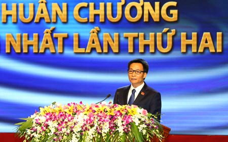 Phó Thủ tướng phát biểu tại Lễ kỷ niệm 70 năm Ngày thành lập Đài Tiếng nói Việt Nam