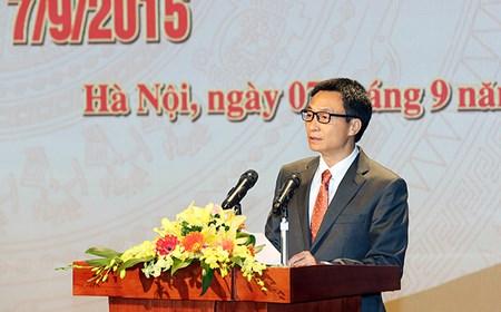 Phó Thủ tướng phát biểu tại Lễ kỷ niệm Ngày phát sóng chương trình truyền hình đầu tiên của Đài THVN