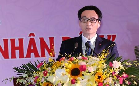 Phó Thủ tướng phát biểu tại Đại hội Thi đua yêu nước ngành y tế