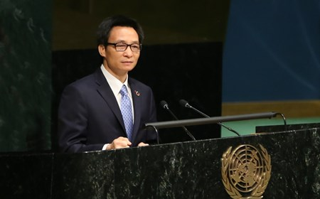 Phó Thủ tướng Phát biểu tại Hội nghị của Liên Hợp Quốc về HIV/AIDS