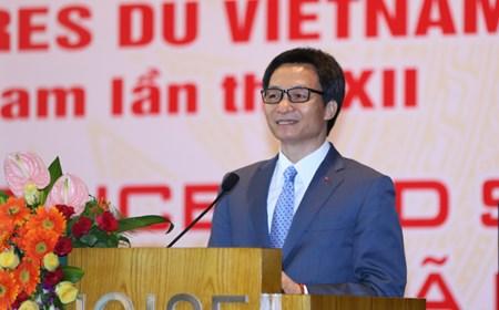 """Phát biểu của Phó Thủ tướng Vũ Đức Đam tại Hội thảo quốc tế """"Khoa học cơ bản và xã hội"""""""
