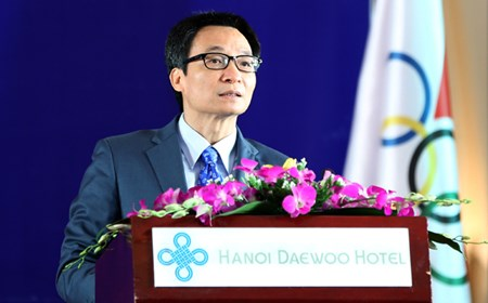 Phát biểu của Phó Thủ tướng Vũ Đức Đam tại Lễ kỷ niệm 40 năm thành lập Ủy ban Olympic Việt Nam