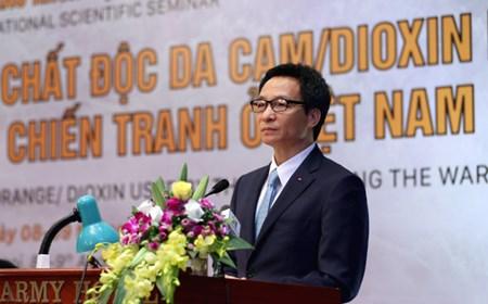 Phát biểu của Phó Thủ tướng Vũ Đức Đam tại Hội thảo khoa học quốc tế về chất độc hóa học da cam/dioxin