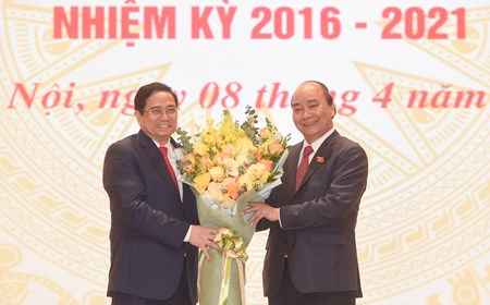 Lễ bàn giao công việc của Thủ tướng Chính phủ