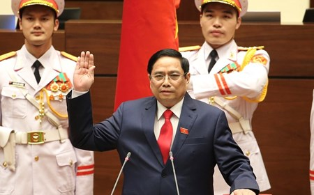 H.E. Mr. Pham Minh Chinh sworn in as Prime Minister of Viet Nam