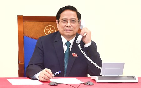 First foreign leaders congratulate Viet Nam's newly-elected PM over phone