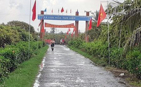 Công nhận 2 xã đảo thuộc tỉnh Bến Tre