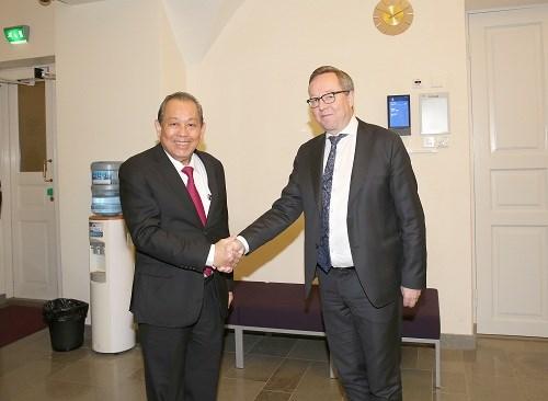 Phó Thủ tướng Thường trực thăm chính thức Singapore, Phần Lan, Bulgaria - ảnh 6