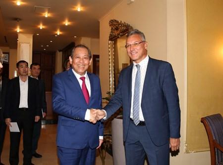 Phó Thủ tướng Thường trực thăm chính thức Singapore, Phần Lan, Bulgaria - ảnh 11