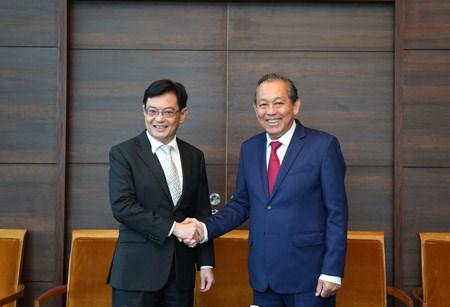 Phó Thủ tướng Thường trực thăm chính thức Singapore, Phần Lan, Bulgaria - ảnh 2