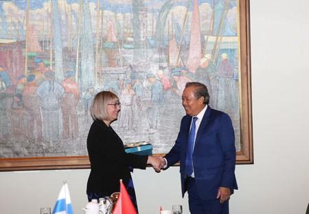 Phó Thủ tướng Thường trực thăm chính thức Singapore, Phần Lan, Bulgaria - ảnh 5