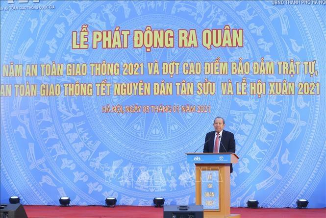 Hoạt động của Phó Thủ tướng Thường trực dịp đầu năm 2021 - ảnh 3