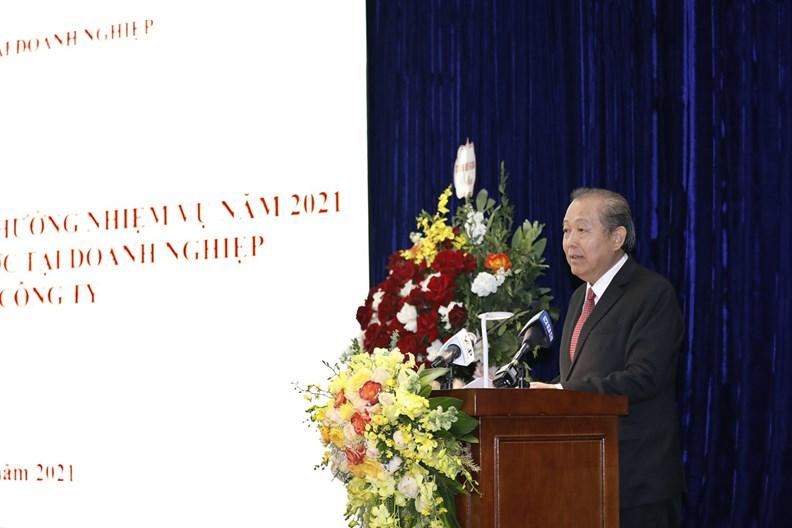 Hoạt động của Phó Thủ tướng Thường trực dịp đầu năm 2021 - ảnh 14