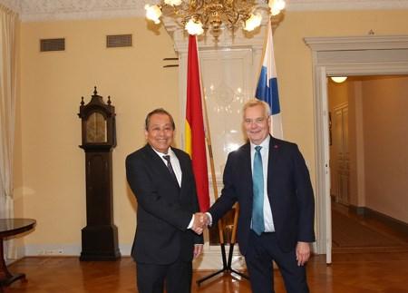 Phó Thủ tướng Thường trực thăm chính thức Singapore, Phần Lan, Bulgaria - ảnh 4