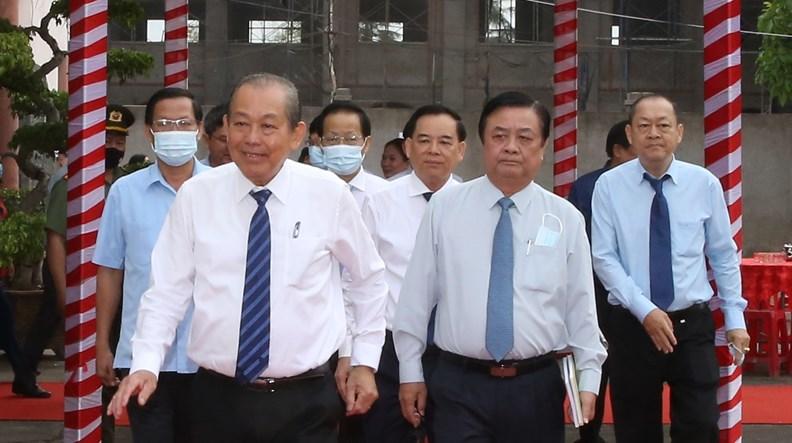 Hoạt động của Phó Thủ tướng Thường trực dịp đầu năm 2021 - ảnh 1