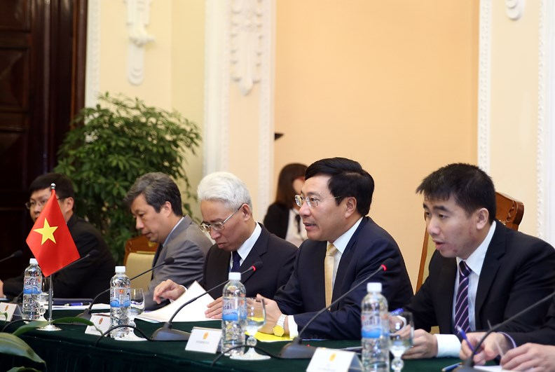 Bộ trưởng Ngoại giao Mông Cổ Tsend Munkh-Orgil thăm chính thức Việt Nam - ảnh 4