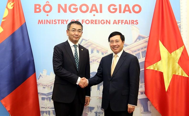 Bộ trưởng Ngoại giao Mông Cổ Tsend Munkh-Orgil thăm chính thức Việt Nam - ảnh 3