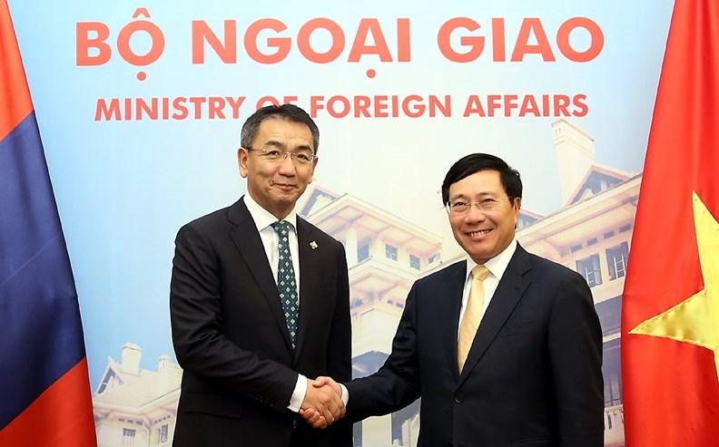 Bộ trưởng Ngoại giao Mông Cổ Tsend Munkh-Orgil thăm chính thức Việt Nam - ảnh 2